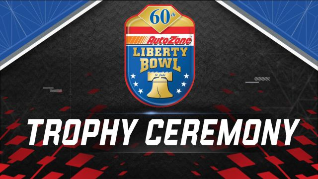 AutoZone Liberty Bowl Trophy Ceremony Presented by Capital