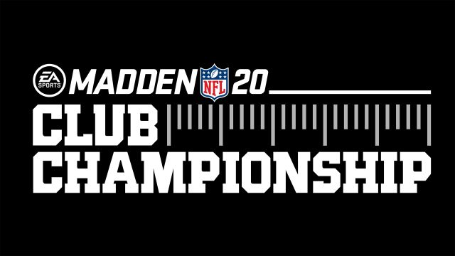 EA SPORTS Madden NFL 20 Club Championship