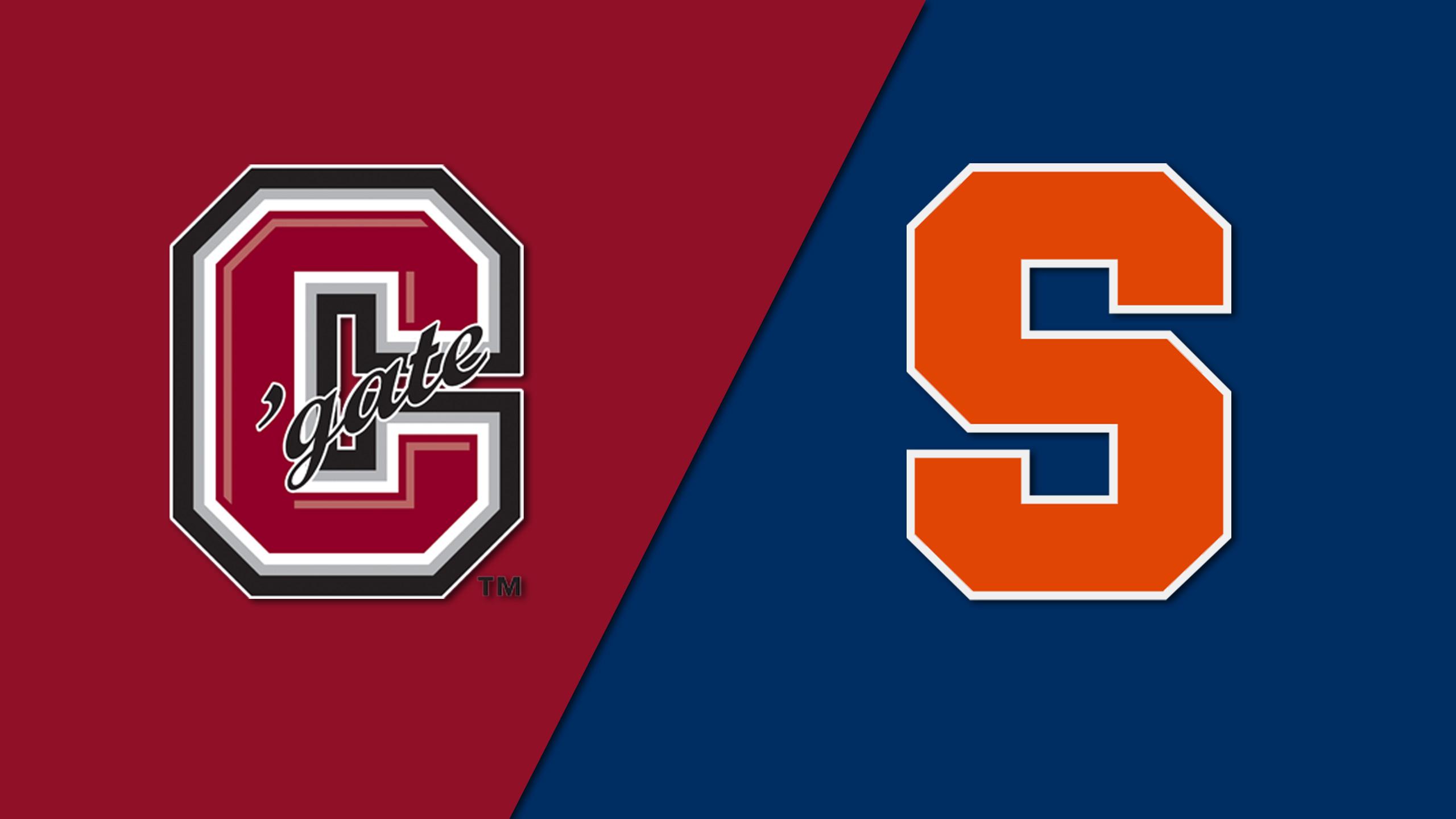 Colgate vs. Syracuse (M Soccer)