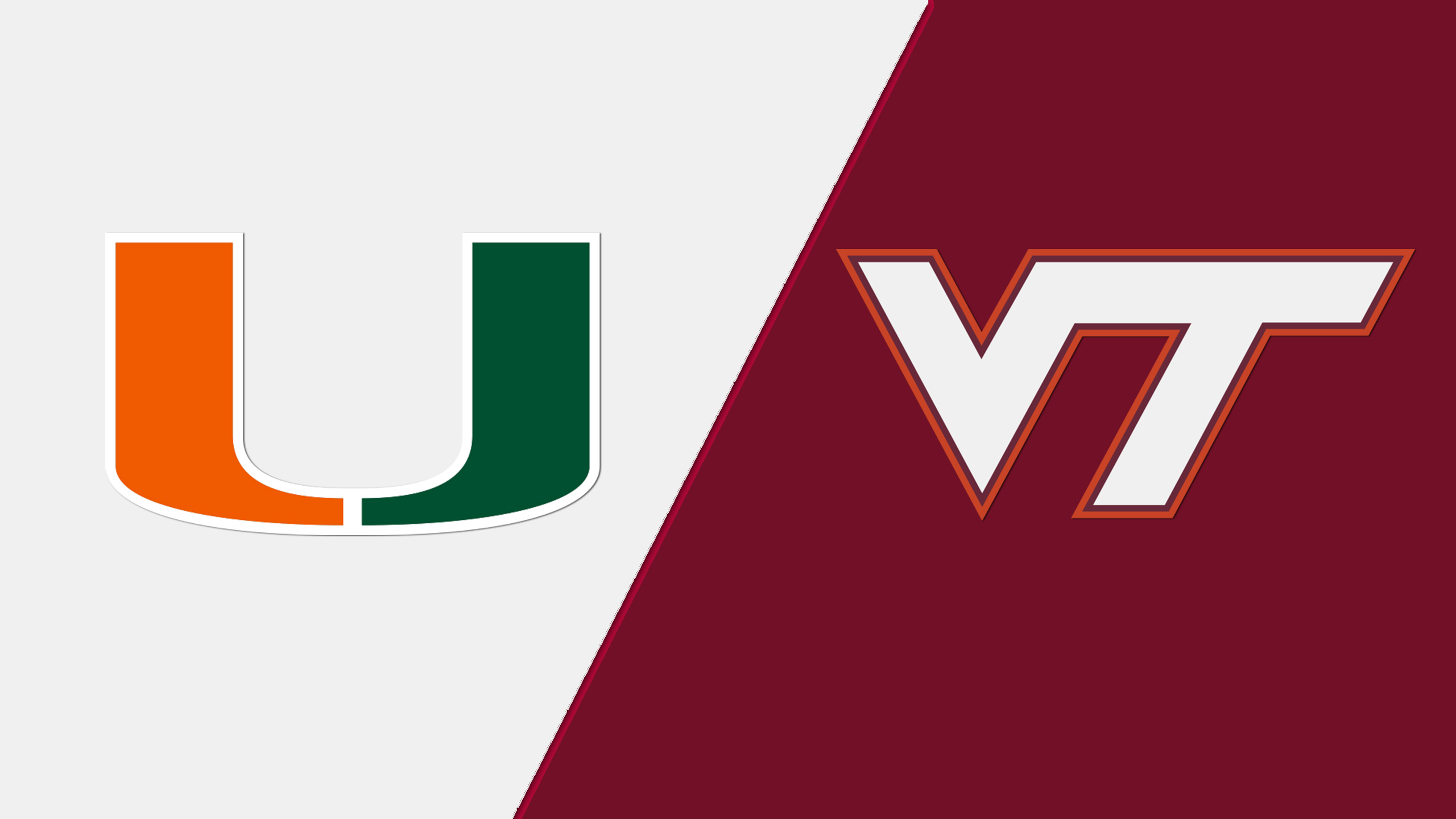 Miami vs. Virginia Tech (Football) (re-air)