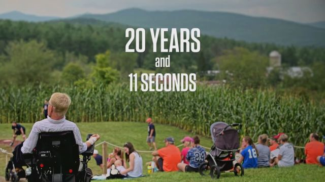 """E:60 Pictures: """"20 years and 11 seconds"""" - The Travis Roy Story"""