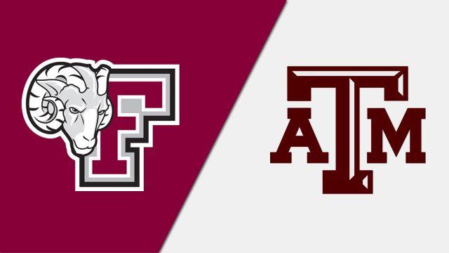 Fordham vs. Texas A&M (Baseball)