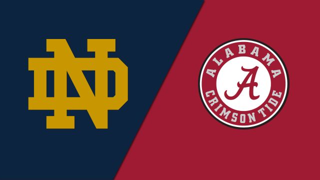 Notre Dame Fighting Irish vs. Alabama Crimson Tide (ESPN Classic Football)