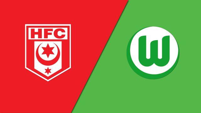 Kết quả hình ảnh cho Hallescher vs Wolfsburg