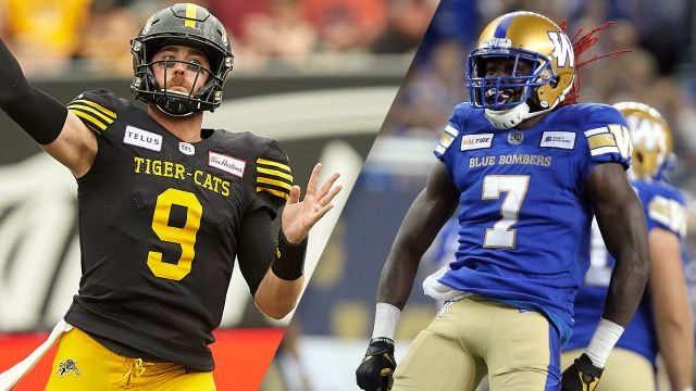 Hamilton Tiger-Cats vs. Winnipeg Blue Bombers (Championship) (Canadian Football League)