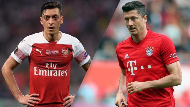 In Spanish-Arsenal vs. Bayern Munich (International Champions Cup)