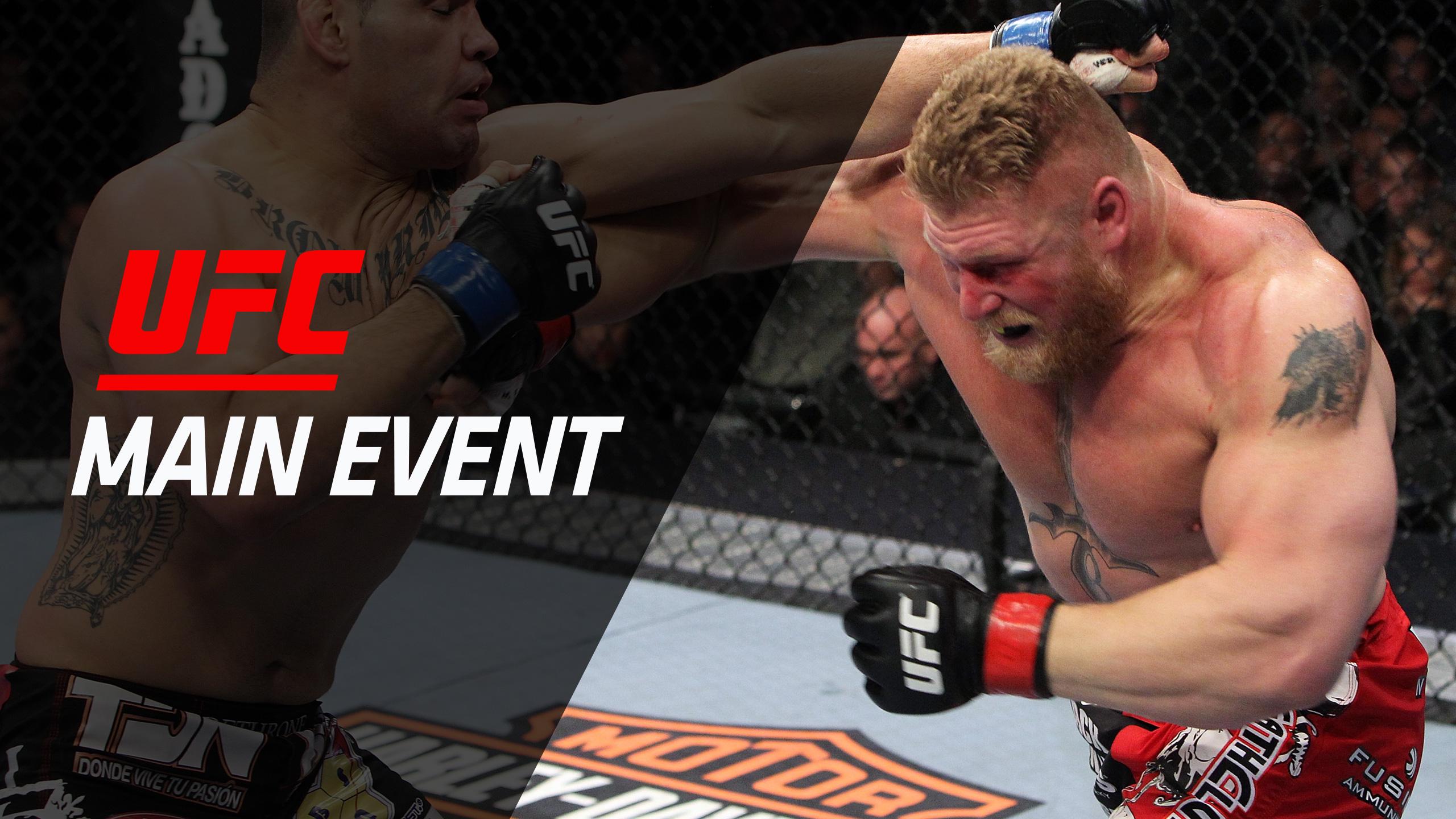 UFC Main Event: Lesnar vs. Velasquez