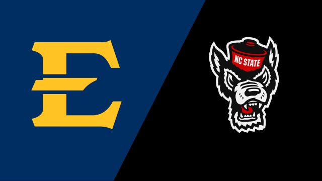 East Tennessee State vs. #20 NC State (M Soccer)