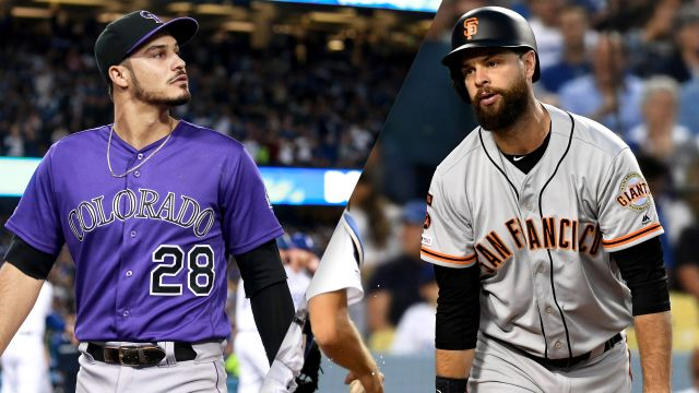 Colorado Rockies vs. San Francisco Giants (re-air)