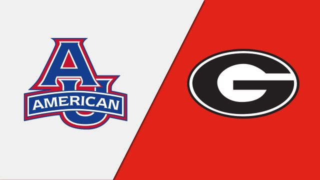 American vs. Georgia (W Volleyball)
