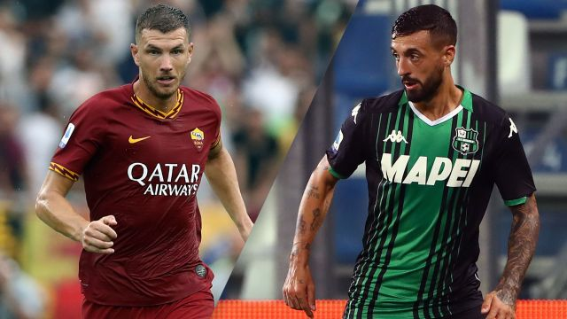 In Spanish-AS Roma vs. Sassuolo (Serie A)