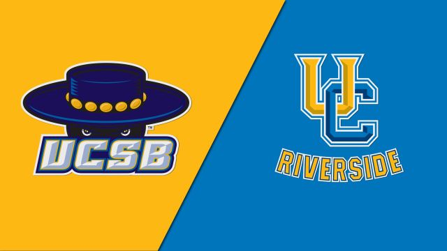 UC Santa Barbara vs. UC Riverside (M Basketball)