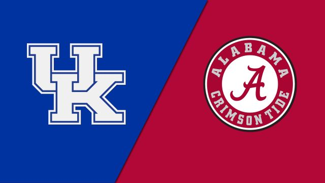 Kentucky vs. Alabama