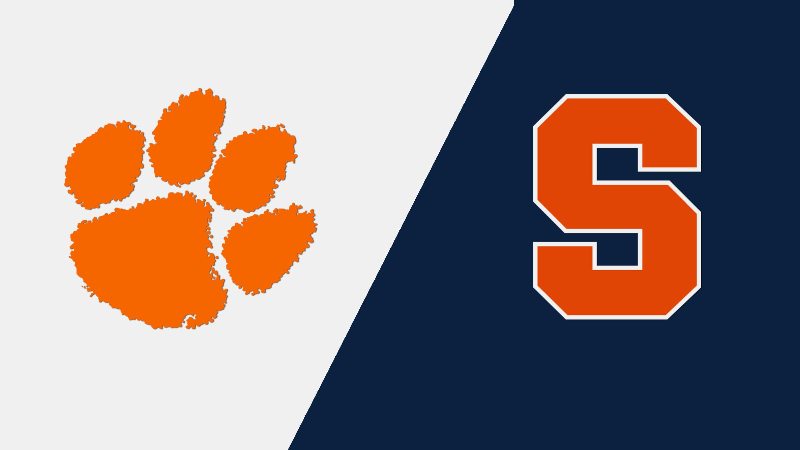 Clemson vs. Syracuse (M Basketball)