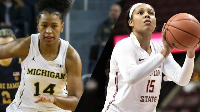 #24 Michigan vs. #8 Florida State (W Basketball)