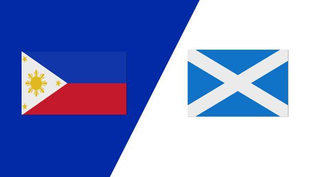 Philippines vs. Scotland