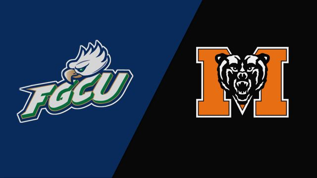 Florida Gulf Coast vs. Mercer (M Basketball)