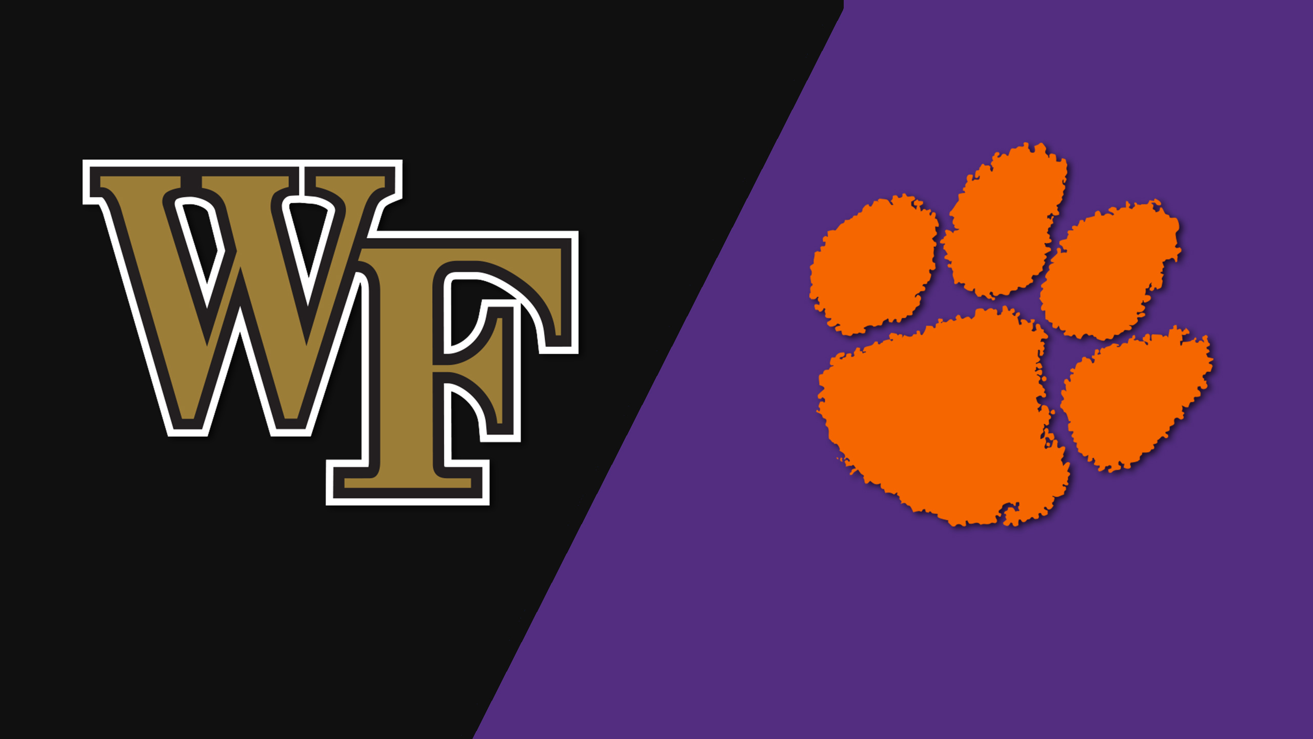 #1 Wake Forest vs. Clemson (M Soccer)