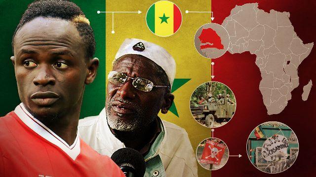 Palco de guerras, conheça berço do craque Mané no Senegal