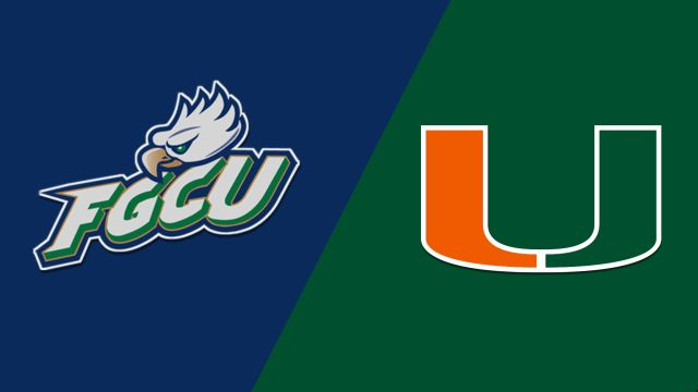 #13 Florida Gulf Coast vs. #4 Miami (First Round) (NCAA Women's Basketball Championship)