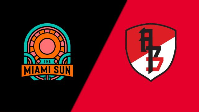 Miami Sun vs. Asia Pacific Dragons