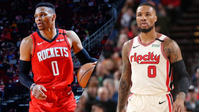 Houston Rockets vs. Portland Trail Blazers