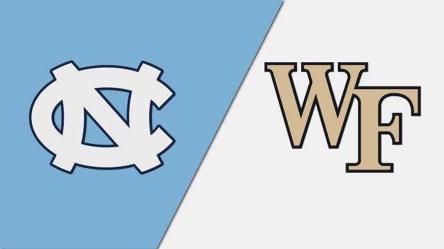 #19 North Carolina vs. #4 Wake Forest (M Soccer)