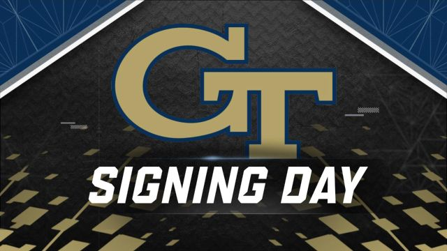 Georgia Tech Football National Signing Day