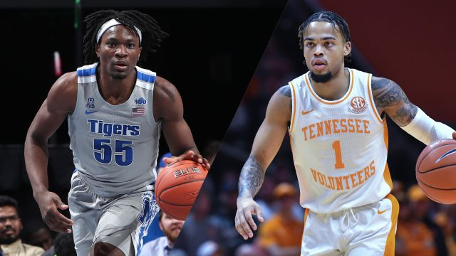 Sat, 12/14 - #13 Memphis vs. #19 Tennessee (M Basketball)