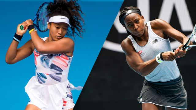 (3) Osaka vs. Gauff (Women's Third Round)