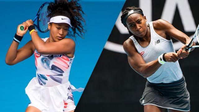 (3) Osaka vs. Gauff (Women's Third Round)