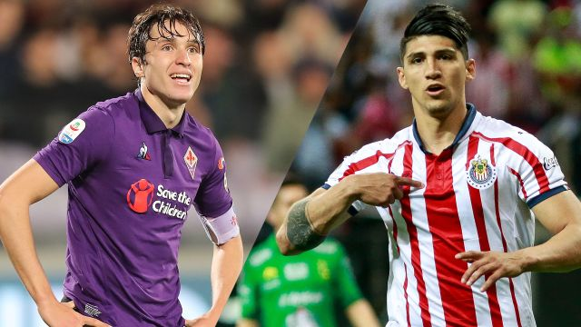 In Spanish-Fiorentina vs. Chivas (International Champions Cup)