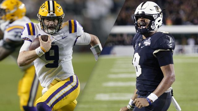 LSU vs. UCF (Fiesta Bowl)