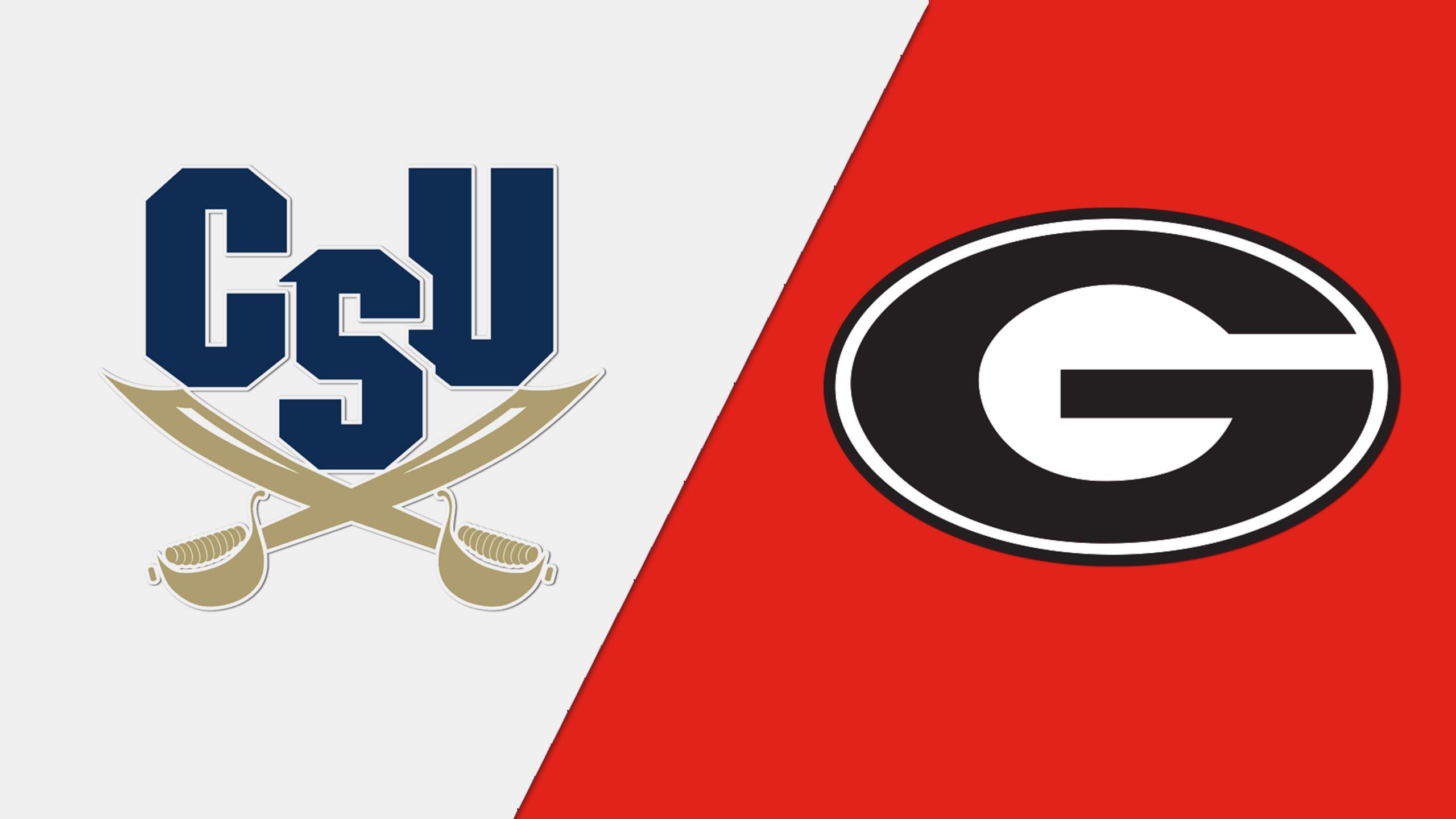 Charleston Southern vs. Georgia (W Basketball)