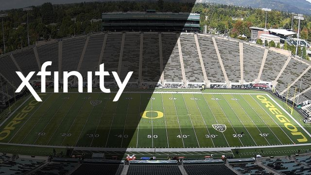Xfinity SkyCam-Utah vs. Oregon (Football)