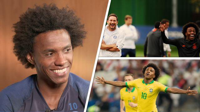 Willian – Trabalho com Lampard, concorrência com jovens e vaga na seleção