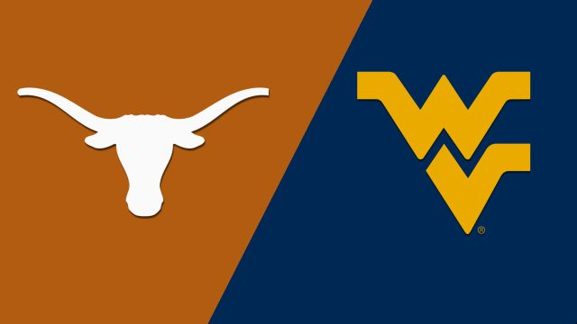 #23 Texas vs. West Virginia (re-air)