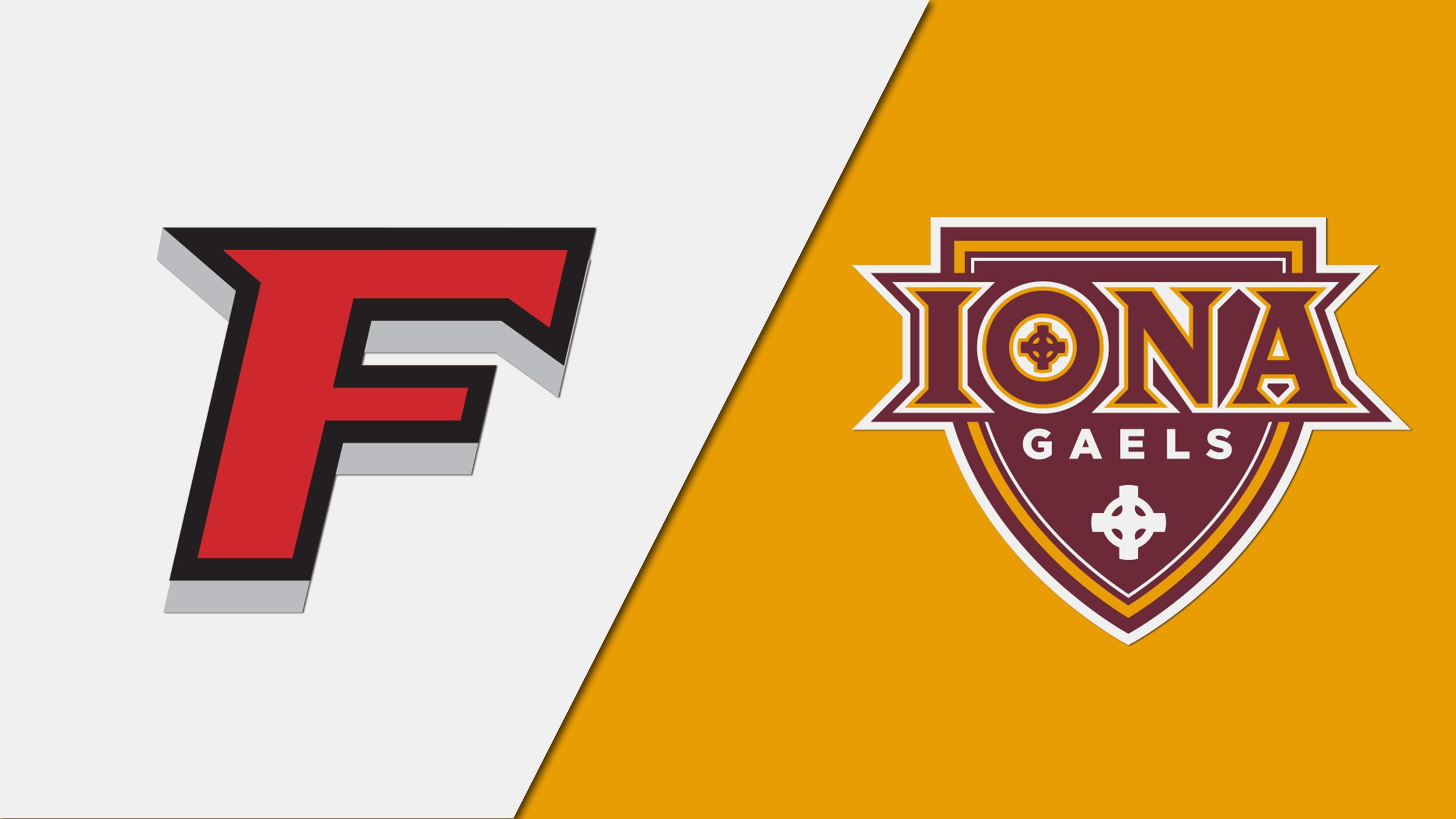 Fairfield vs. Iona
