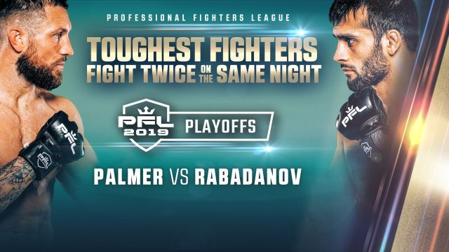 Thu, 10/17 - PFL Playoffs: Featherweight and Lightweight