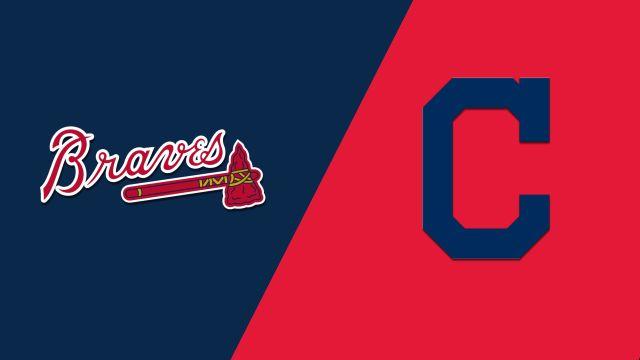 In Spanish-Atlanta Braves vs. Cleveland Indians