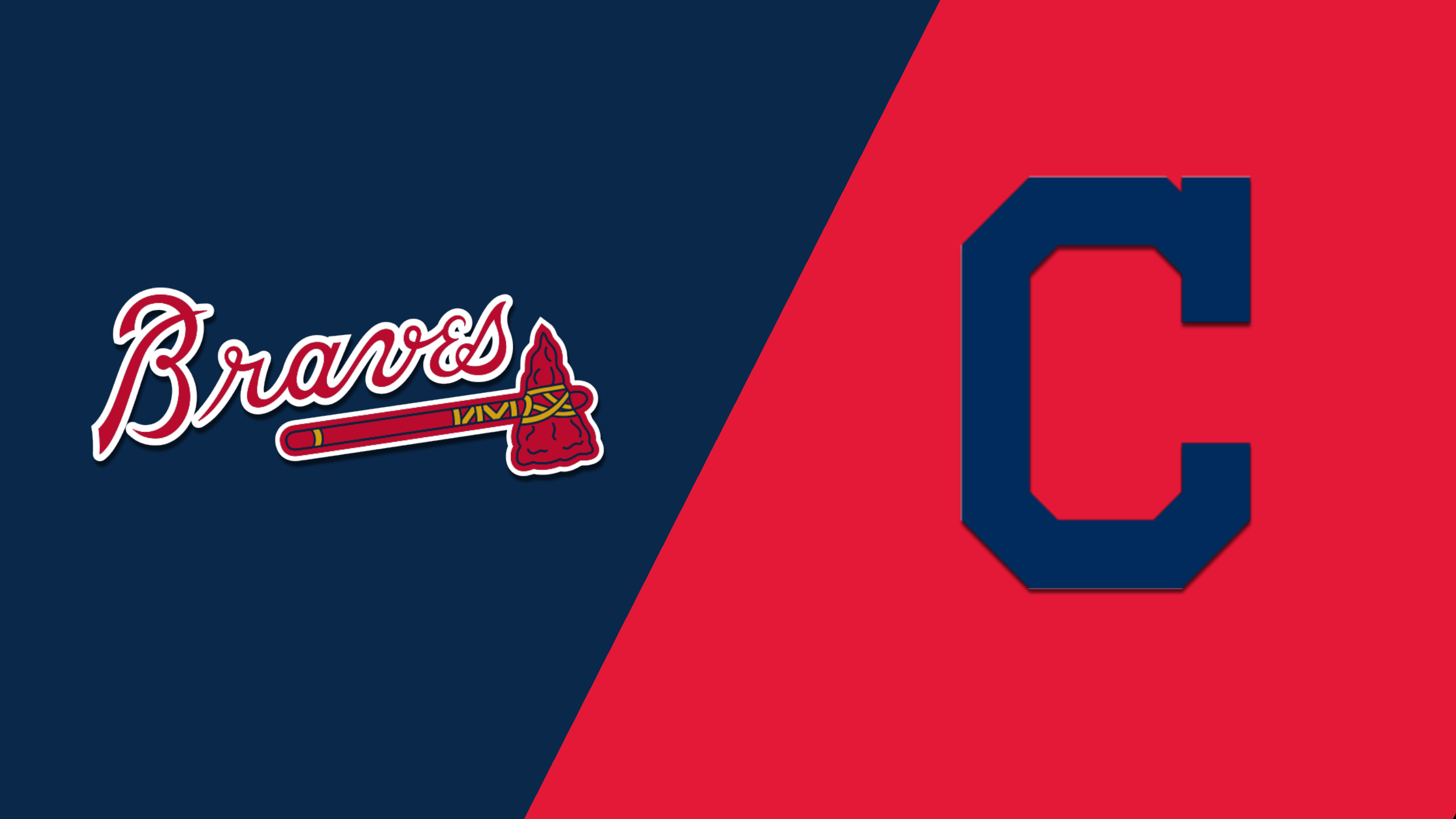 Atlanta Braves vs. Cleveland Indians
