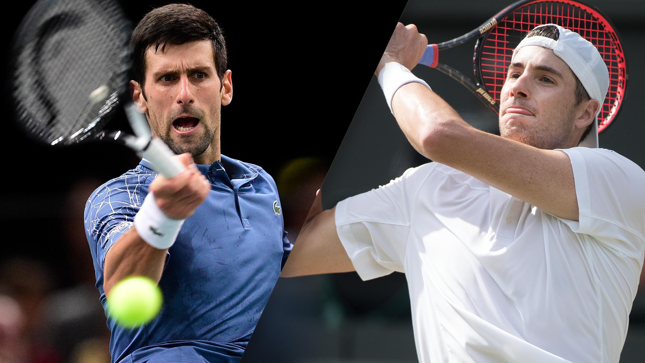 (1) Djokovic vs. (8) Isner (Round Robin)