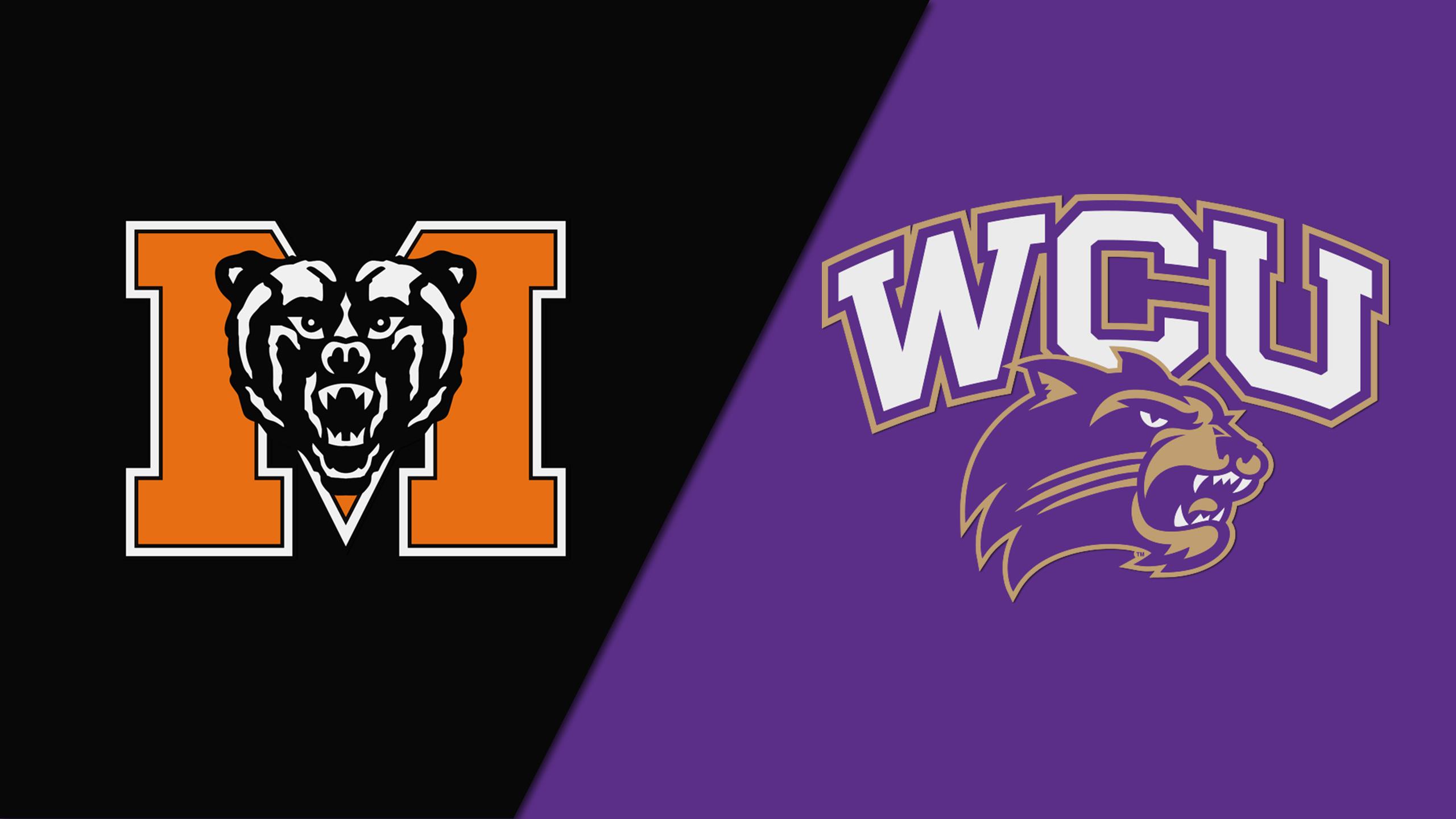 Mercer vs. Western Carolina (W Basketball)