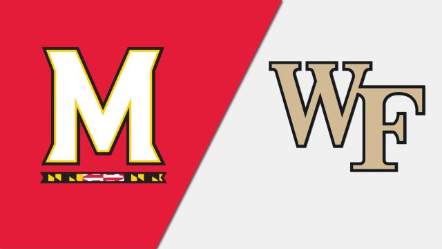 Maryland vs. #4 Wake Forest (Second Round) (NCAA Men's Soccer Championship)