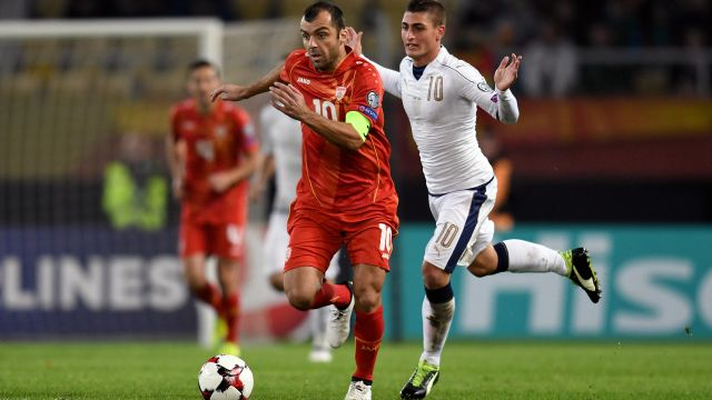 FYR Macedonia vs. Latvia (UEFA European Qualifiers)