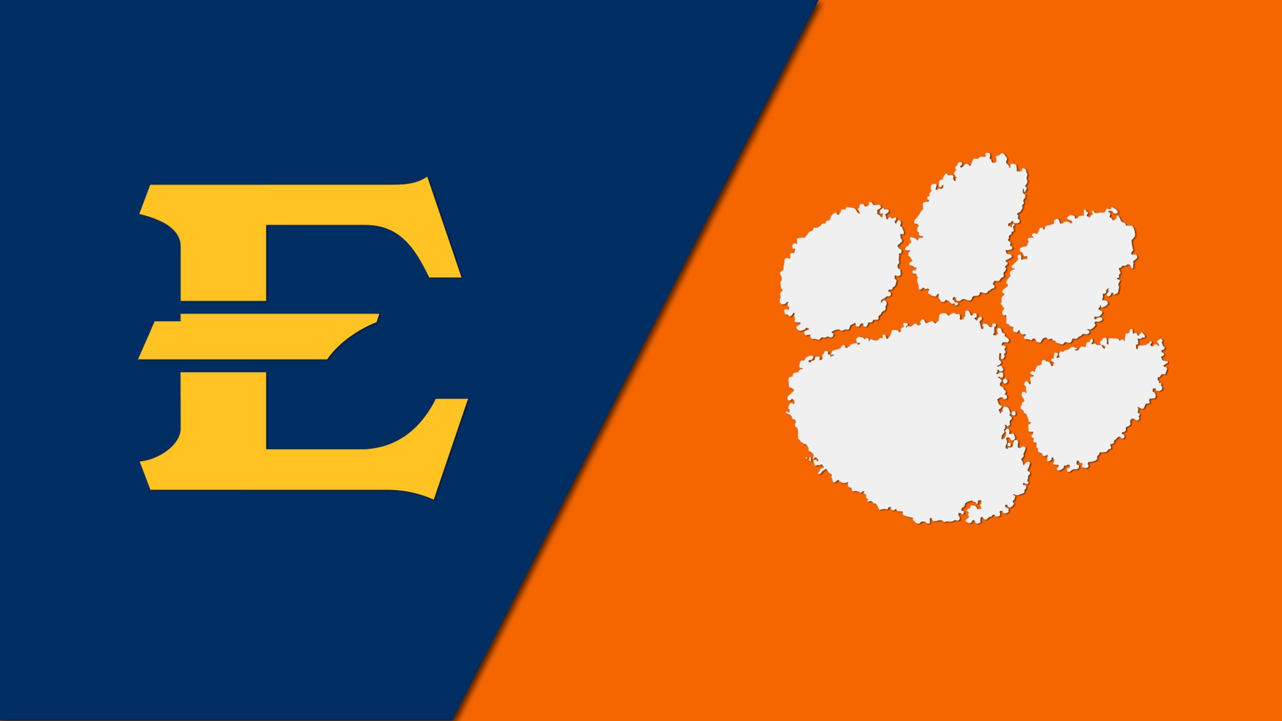 East Tennessee State vs. #19 Clemson (Baseball)