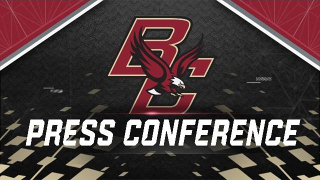 Boston College Weekly Football Press Conference
