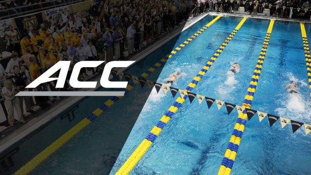 ACC Men's Swimming Championships (Day 3)