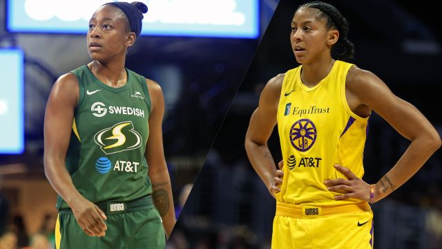 Seattle Storm vs. Los Angeles Sparks (Elimination)