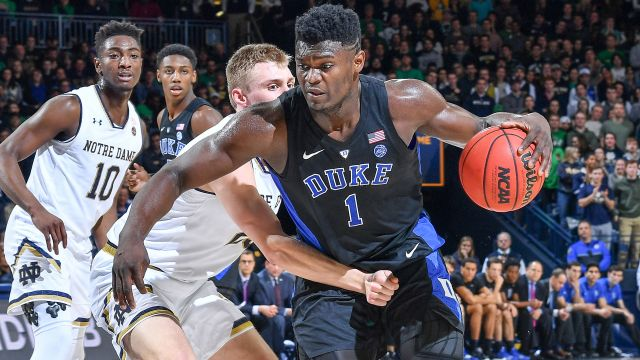 #2 Duke vs. Notre Dame (re-air)